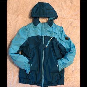 Girls winter coat size 14/16 Teal color
